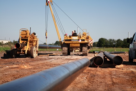 Oil and gas line pipe